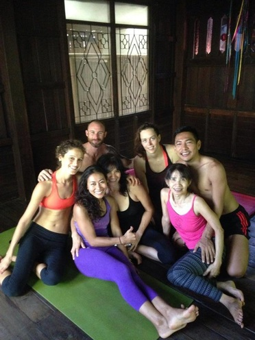 Wild Rose Yoga TTC Yoga Teacher Training Chiang Mai Thailand